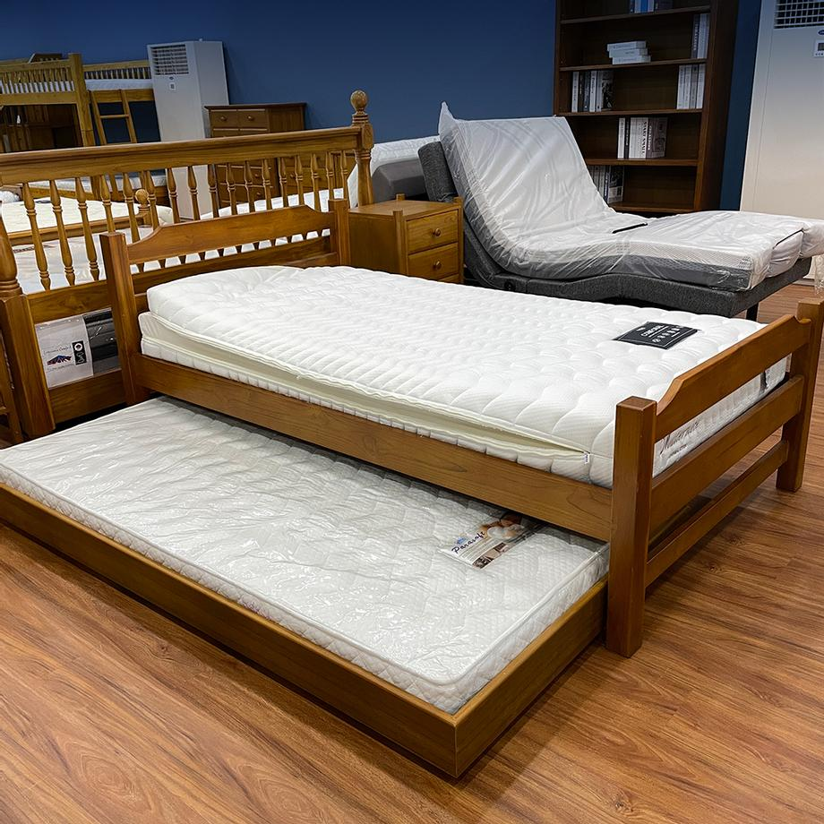 เตียงไม้ 3.5ฟุต
