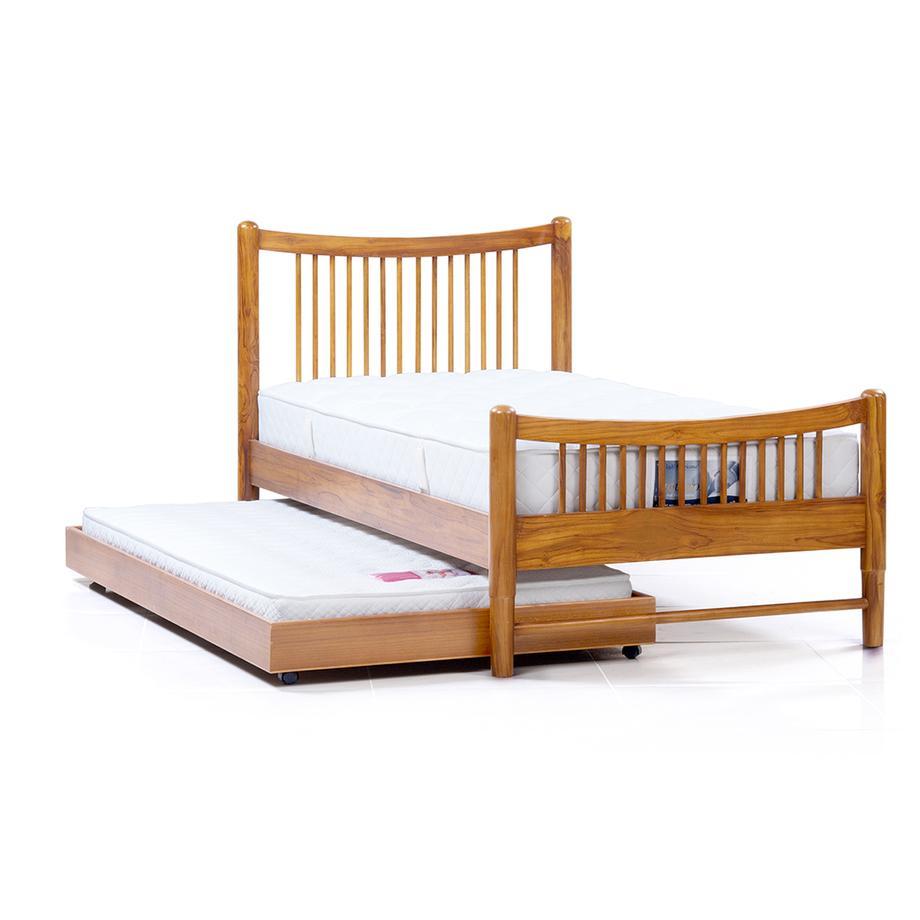 เตียง อารียา 3.5ฟุต พร้อมกล่องที่นอนเสริม