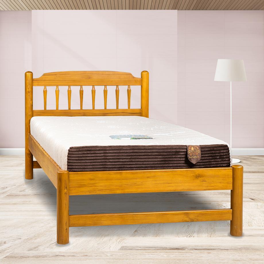 เตียงไม้สัก