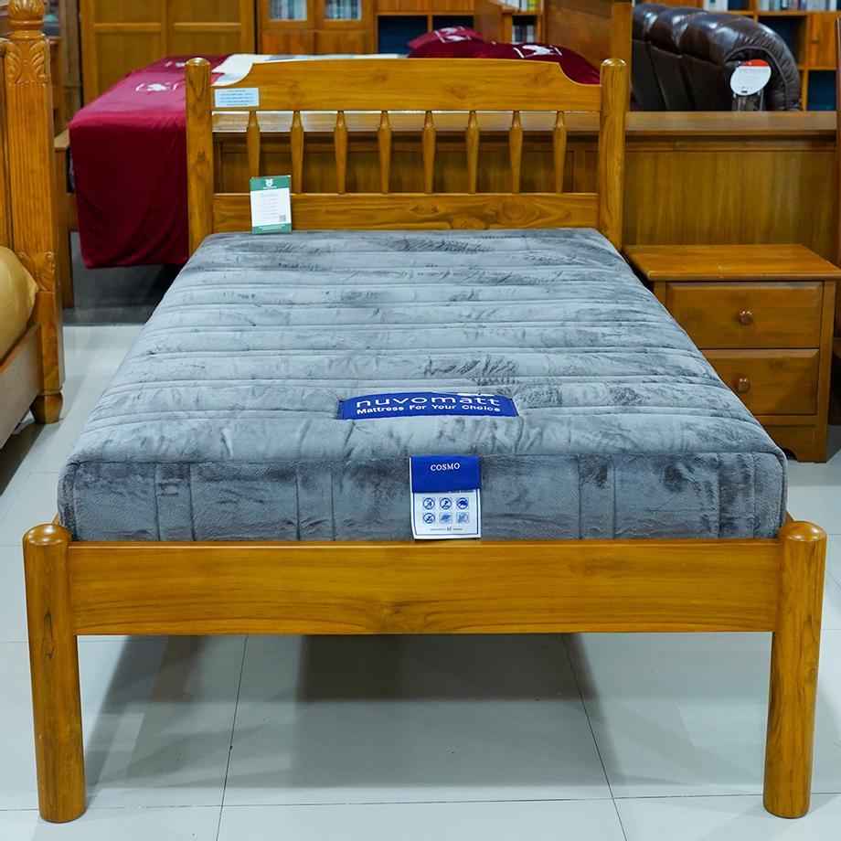 เตียงนอนไม้สัก 3.5ฟุต