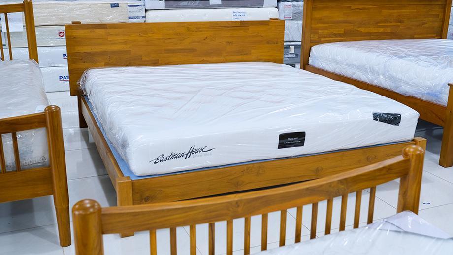 เตียงไม้สัก 6ฟุต
